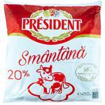 Smantana President Alba  20% 450g