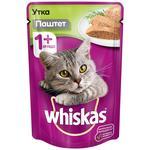 Hrană pentru pisici Whiskas Rață 85g