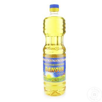 Ulei de floarea soarelui Danova 0,955l - cumpărați, prețuri pentru Metro - foto 1