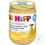 Pireu HiPP banana/pere/cereale 190g