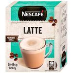 Кофе растворимый NESCAFE® LATTE 20x16г