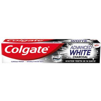 100ML PASTA ADV.WHITE COLGATE CHARCOAL - купить, цены на Метро - фото 1