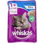 Корм для кошек Whiskas рагу/лосось 85г