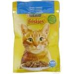 Hrana pisici Friskies somon/sos 100g