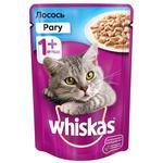 Hrana pentru pisici Whiskas ragu/somon 85g