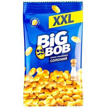 Арахис Big Bob жареный соленый 170г - купить, цены на Метро - фото 1