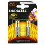 Baterie Duracell MN2400 AАА 2buc