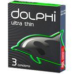Презервативы Dolphi Ultra Thin 3шт