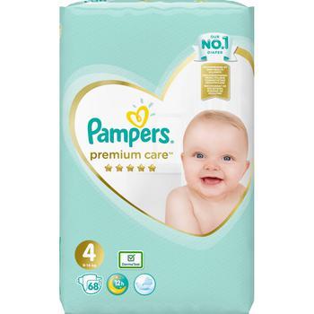 Подгузники Pampers Premium Care 9-14кг Nr.4 68шт - купить, цены на Метро - фото 1
