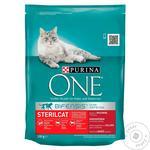 Корм сухой для кошек Purina One говядина 200г