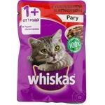 Корм для кошек Whiskas телятина/баранина 85г