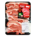 Грудинка свиная 1-ой категории разделанная