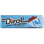 Guma de mestecat Dirol fresh ice mint 13,6g