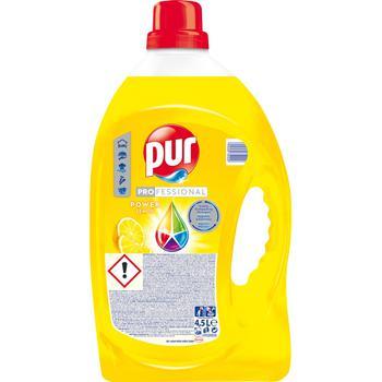 Средство Pur Lemon для мытья посуды 4,5л - купить, цены на Метро - фото 1