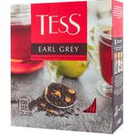Ceai Tess Earl Grey negru in plicuri 100x2g