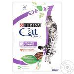 Hrana pisici Purita Cat Chow Hairball pui 400g