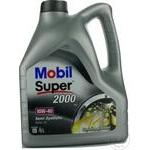 Моторное масло Mobil Super 2000 10W40 4л Uni.
