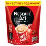 Растворимый кофе NESCAFE® ORIGINAL 3в1 53х13г