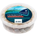 Селедочка Русское Море Аппетитная кусочки 400г
