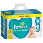 Scutece Pampers Active Baby 4-8kg Nr.2 96buc