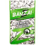 Семена подсолнeчника Banzai белые жареные 110г