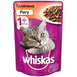 Hrana pentru pisici Whiskas ragu/vitel 85g