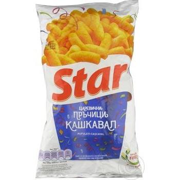 Снеки Star со вкусом сыра 73г - купить, цены на Метро - фото 4
