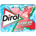 Жевательная резинка Dirol X-Fresh арбуз 16г