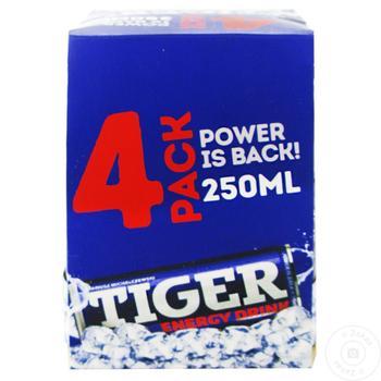 Băutură energizantă Tiger 0,25l x 4buc - cumpărați, prețuri pentru Metro - foto 1