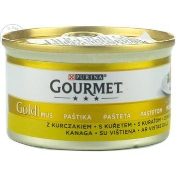 Hrana pentru pisici Gourmet pui 85g - cumpărați, prețuri pentru Metro - foto 1