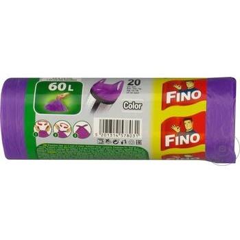 Saci menaj Fino cu maner 20x60l - cumpărați, prețuri pentru Metro - foto 4