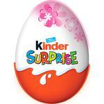 Яйцо шоколадное Kinder с сюрпризом для девочки 20г