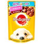Hrana pentru caini Pedigree Junior miel 85g