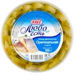 Филе сельдь Vici оригинал в масле 500г