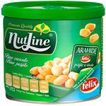 Arahide Nutline prajite in cutie metalica 135g