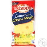 Cascaval President Emmental 45% 250g