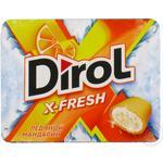 Gume de mestecat Dirol X-Fresh mandarina 9x16g
