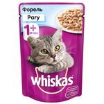 Hrana pentru pisici Whiskas ragu/pastrav 85g