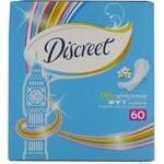 Ежедневные гигиенические прокладки Discreet Breez 60шт