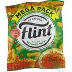 Сухарики Flint со вкусом красной икры 110г