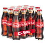 Напиток прохладительный газированный Coca-Cola 0,25л x 12шт