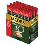 Растворимый кофе 3в1 Jacobs с сахаром 25x15г