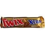 Батончик Twix Extra с печеньем 82г