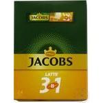 Кофе растворимый Jacobs 3в1 латтэ 24x13г