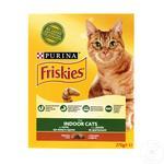 Hrană uscată pentru pisici Friskies Indoor 270g