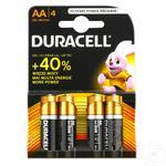 Baterii Duracell 4XAA MN1500 K4