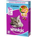 Корм сухой для кошек Whiskas лосось 350г