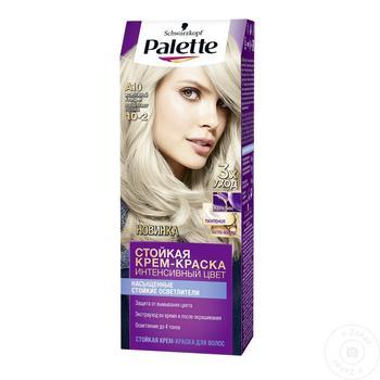 Краска Palette ICC A-10 жемчужный блондин - купить, цены на Метро - фото 5