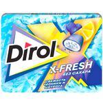 Gume de mestecat Dirol X-Fresh afine 9x16g