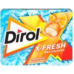 Жевательная резинка Dirol X-Fresh мандарин 9x16г